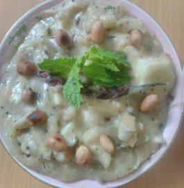 Falhari Paneer Kadhi Recipe