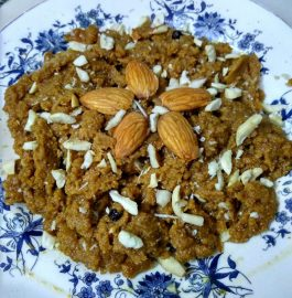 Kasaar/Sukha Whole Wheat Halwa Recipe