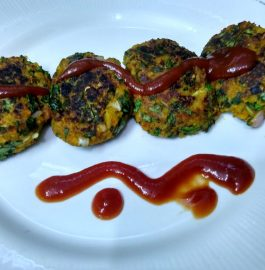 Leftover Khichdi Veggies Spinach Tikki Recipe