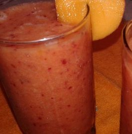 Plum Peach Juice Recipe