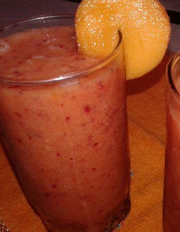 Plum Peach Juice Recipe