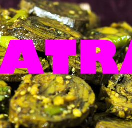 Patra /Alu Vadi/Arbi Rolls Recipe