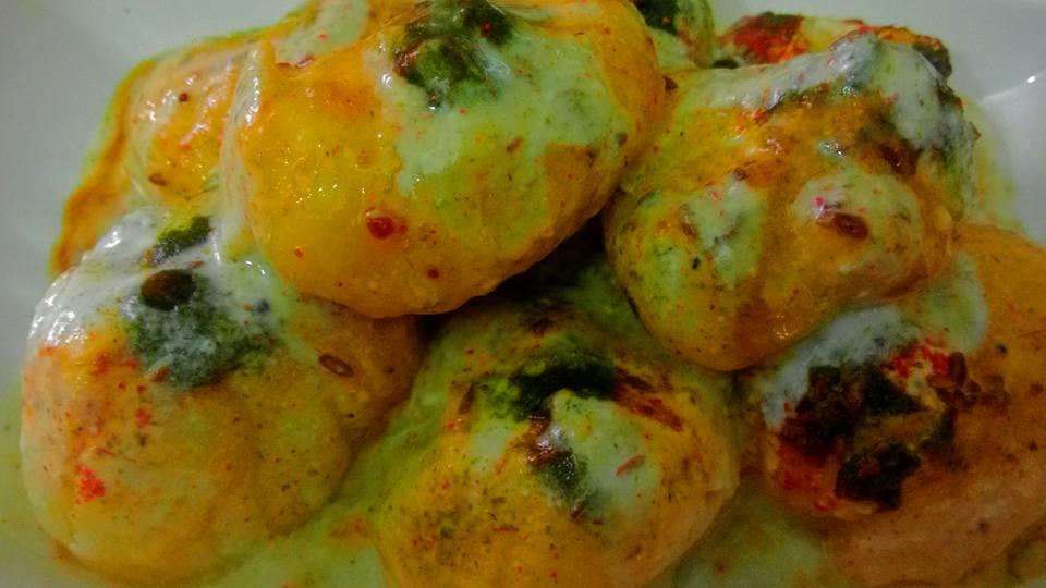 Potato Dahi Vada Recipe