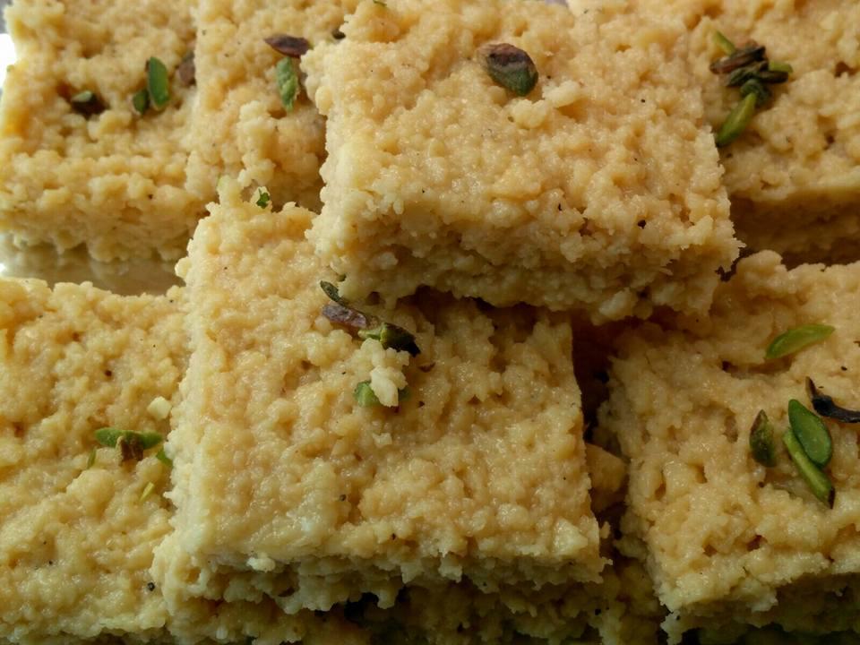 Thal Ki Barfi Recipe