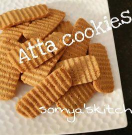 Whole Wheat Flour Cookies Recipe
