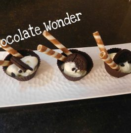 Chocolate Wonder Cups in 5 minutes Recipe
