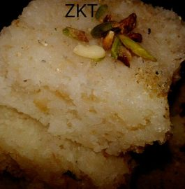 Nariyal Barfi Recipe