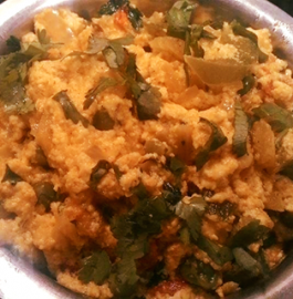 Paneer Bhurji(Scrambled Cottage Cheese) Recipe