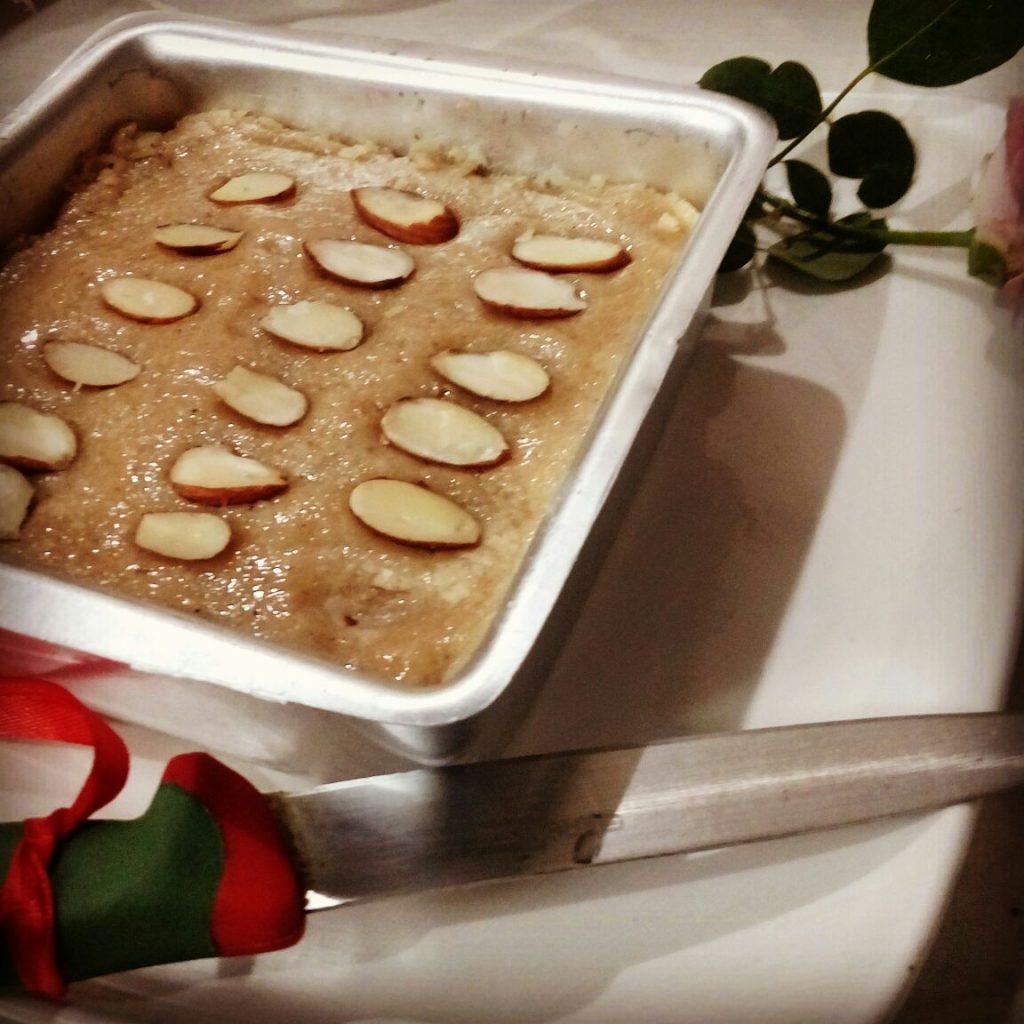 Walnut Barfi Cake Recipe