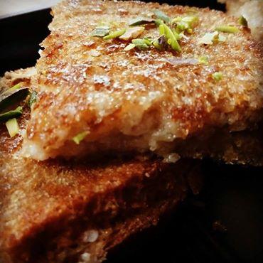 Shahi Malai Bread Recipe