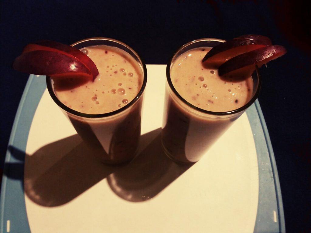 Plum Banana Smoothie ( Iron Rich) Recipe