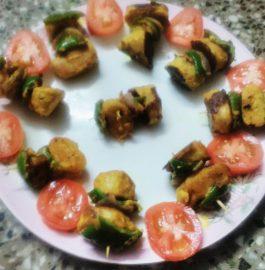 Soya Chap Paneer Tikka Recipe