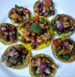 Paapdi Mathri Chaat Recipe