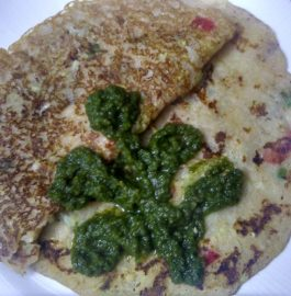 Rice Flour Lauki (Bottlegourd) Pancakes Recipe
