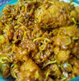 Gobhi with Methi Sprouts ki Sabzi Recipe