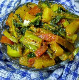 Gobhi Danthal Masala Sabzi Recipe