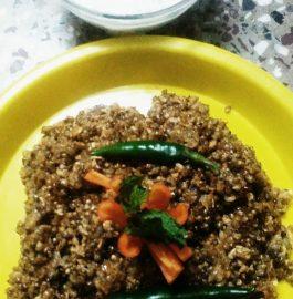 Oats Bajra Upma Recipe