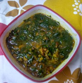 Mangodi Methi (Fenugreek) ka Saag Recipe