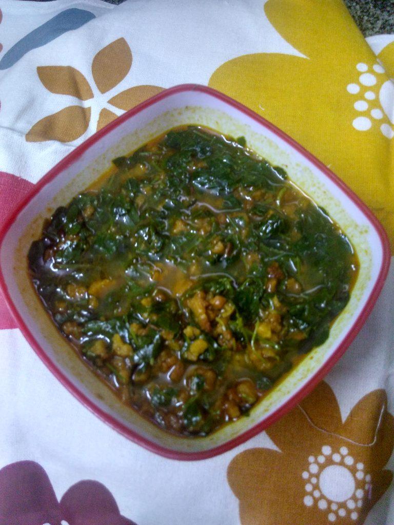 Mangodi Methi (Fenugreek) ka Saag Recipe