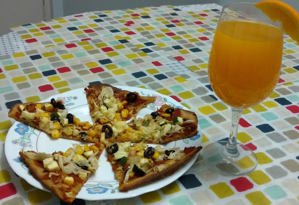 Thin Crust Multigrain Pizza Recipe