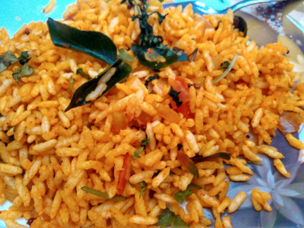 Vagrani/Susheela - Puffed Rice Poha Recipe