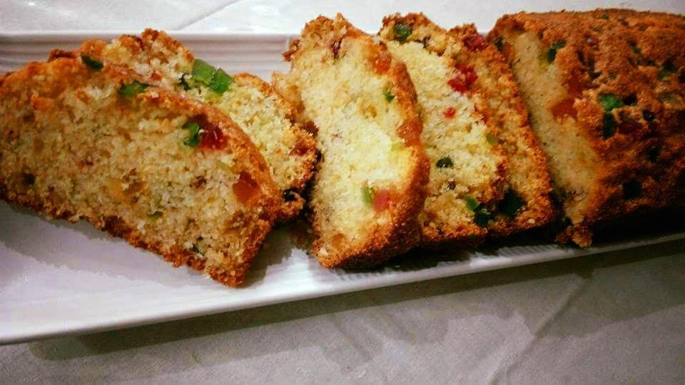 Tutti Frutti Semolina Cake Recipe