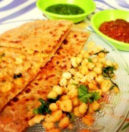 Boondi Paratha Recipe