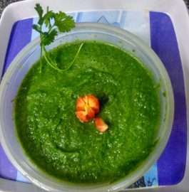 Gooseberry (Amla) and Carrot Green Chutney Recipe