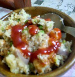 Vegetable Oats Upma Recipe