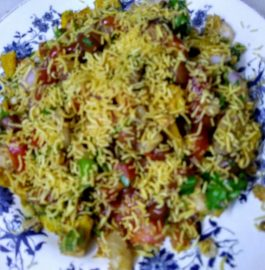 Chana Moong Sprouts Chaat Recipe