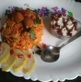 Kashmiri Fried Rice Recipe