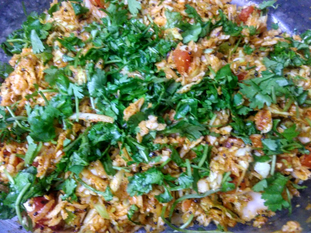 Grated Cabbage with Smoky Flavour Recipe