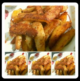 Fried Potato Fingers Recipe
