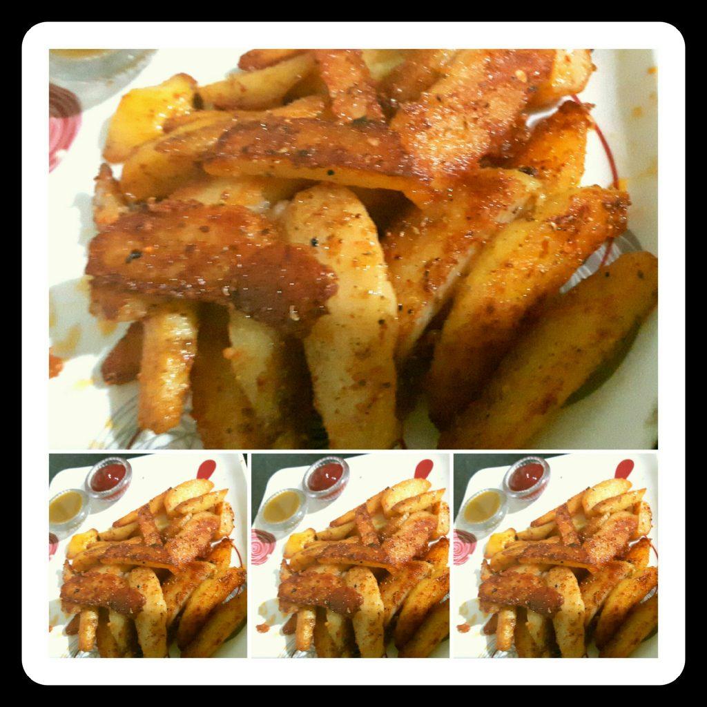 Fried Potato Fingers Recipe