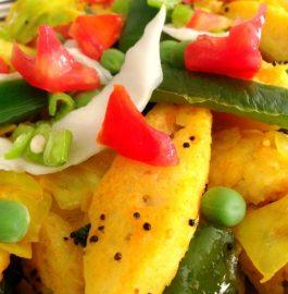Vegetable Fried Idli Recipe