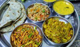 Rajasthani Village Thali Recipe