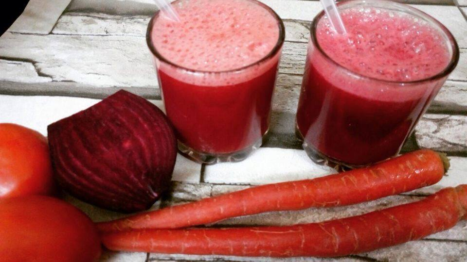 Mixed Vegetable Juice Recipe