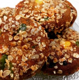 Healthy Snack Recipe: Oats Cutlets