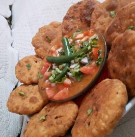 Stuffed Kachori Chole Chaat- Spicy Snacks