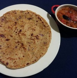 Mixed Veg Stuffed Paratha Recipe