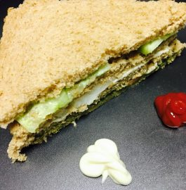 Brown Bread Sandwich Recipe