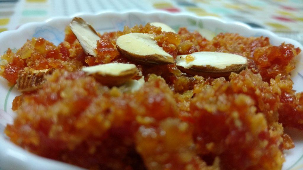Carrot Bottle Gourd Halwa Recipe