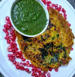 Mixed Lentils - Oats Chilla/Pancakes Recipe