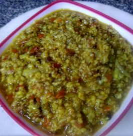 Veggie Wheat Dalia/Kheech Recipe