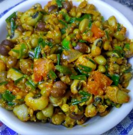 Mixed Sprouts Masala Sabzi Recipe