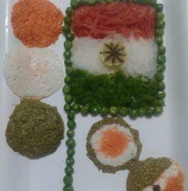 Tricolour Paneer Idli Recipe
