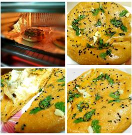 Wheat Cheese Kulcha Recipe
