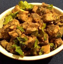 Dahivali Bhindi Recipe