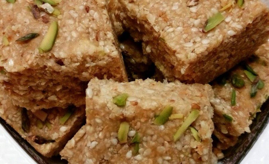 Til Ki Barfi : Lohri or Sankranthi Special Recipe
