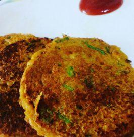 Leftover Roti Masala Pancake Recipe